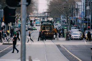 Photo by Weyne Yew on Unsplash of Flinders Street, Melbourne